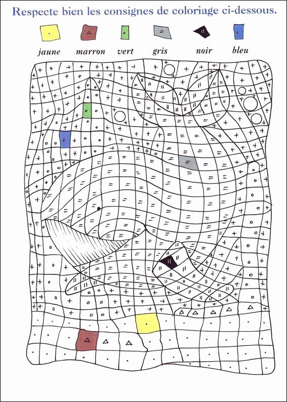 dessin pixel a imprimer et colorier