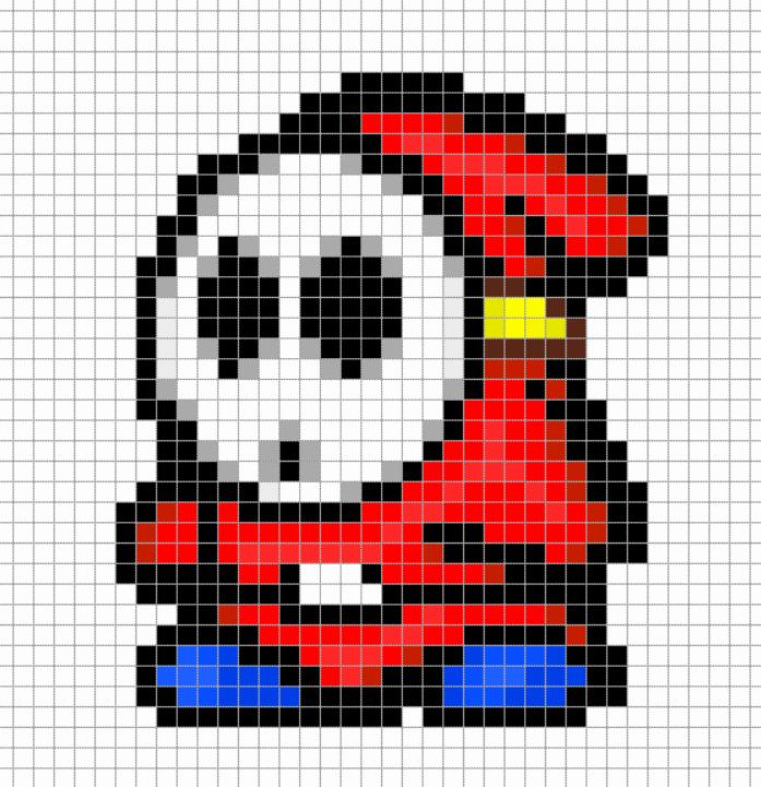 Dessin Pixel A Imprimer Licorne Les Dessins Et Coloriage
