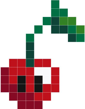 Dessin Pixel A Manger Les Dessins Et Coloriage