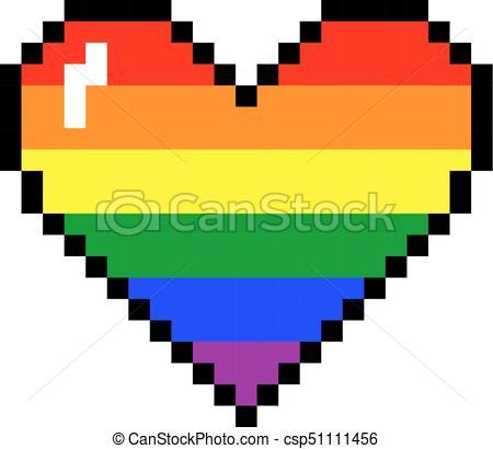 Dessin Pixel Art Coeur Les Dessins Et Coloriage