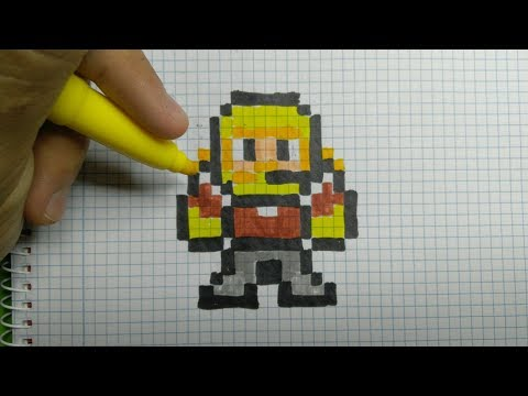 Dessin Pixel Art Fortnite Les Dessins Et Coloriage