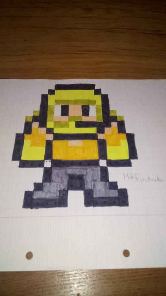 Dessin Pixel Art Fortnite Les Dessins Et Coloriage