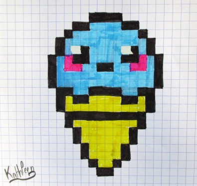 Dessin Pixel Art Images Les Dessins Et Coloriage