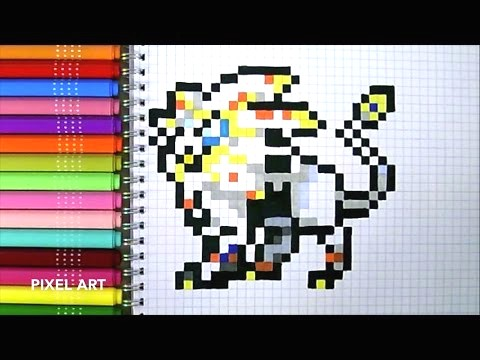 Dessin Pixel Art Pokemon Les Dessins Et Coloriage