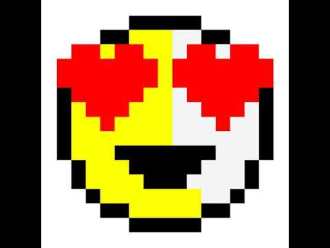 Dessin Pixel Art Smiley Les Dessins Et Coloriage