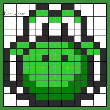 dessin pixel art yoshi