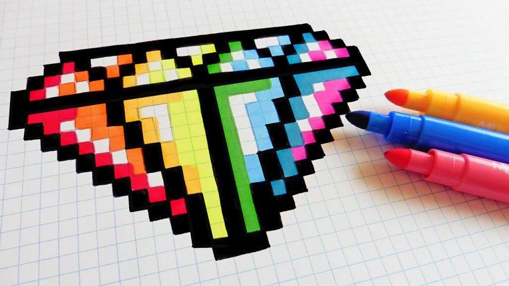 Dessin Pixel Art Les Dessins Et Coloriage
