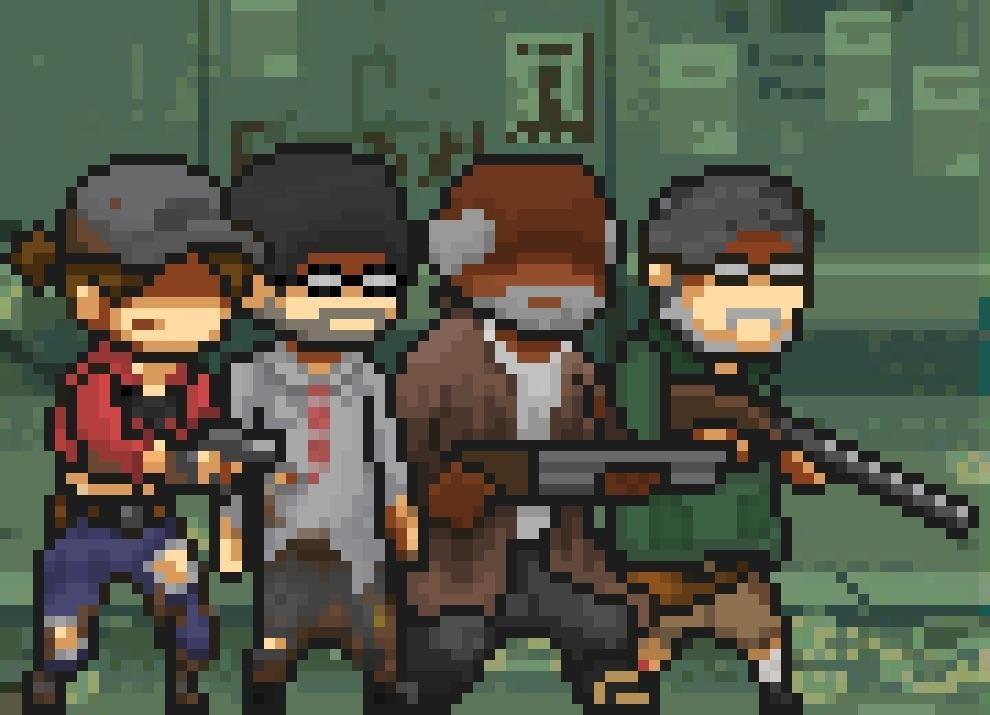 dessin pixel call of duty