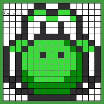 Dessin Pixel Champignon Les Dessins Et Coloriage
