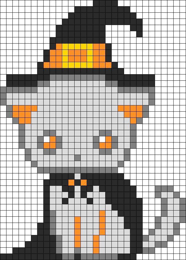 Pixel Art De Chaton