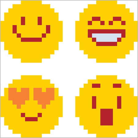Pixel Art Facile Kawaii Coeur