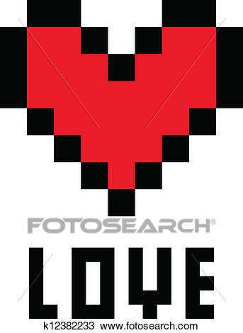Pixel Facile Coeur Gamboahinestrosa