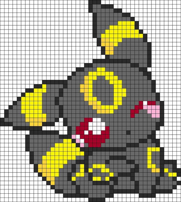 Dessin Pixel De Pokemon Les Dessins Et Coloriage