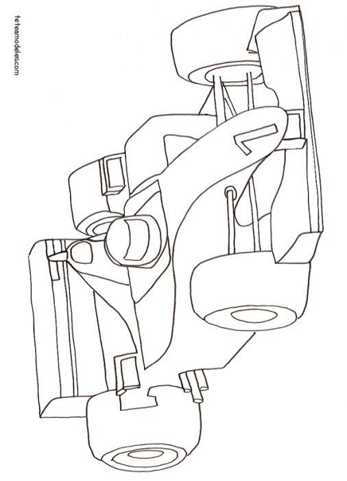 dessin pixel formule 1