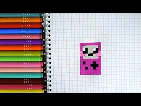 dessin pixel game boy