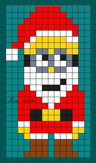 Pixel Art Noel Cadeau.Dessin Pixel Garcon Les Dessins Et Coloriage