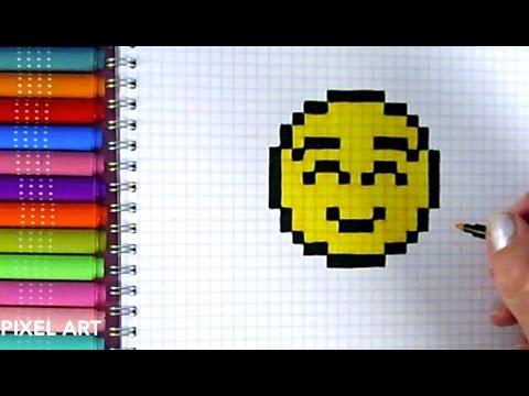 Dessin A Carreau Pixel Facile