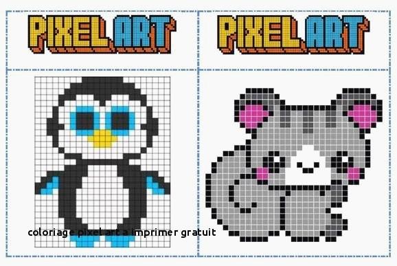 Dessin Pixel Gratuit Les Dessins Et Coloriage