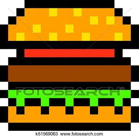 Pixel Art Facile Kawaii Fruit