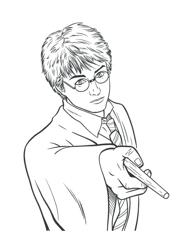 Coloriage Facile Harry Potter.Dessin Pixel Harry Potter Facile Les Dessins Et Coloriage