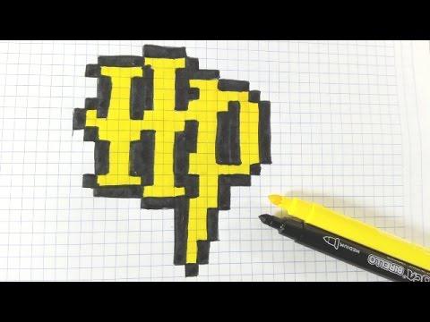 Dessin Pixel Harry Potter Facile Les Dessins Et Coloriage