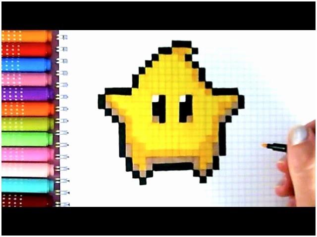 dessin pixel jeux