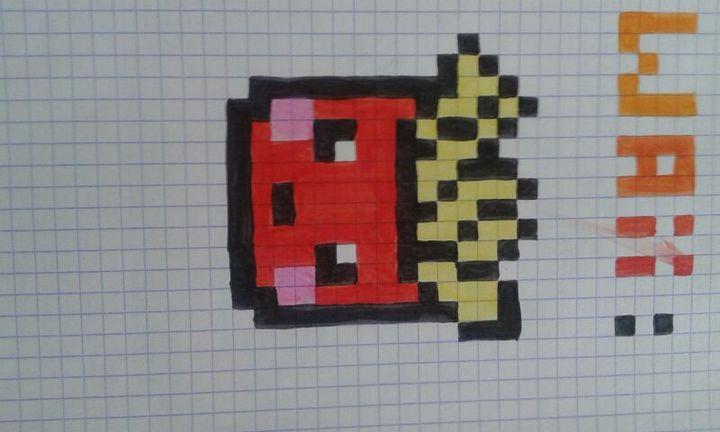 Dessin Pixel Kawaii Nourriture Les Dessins Et Coloriage