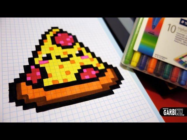 Dessin Pixel Kawaii Les Dessins Et Coloriage