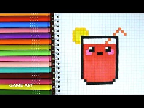 Dessin Pixel Kinder Les Dessins Et Coloriage
