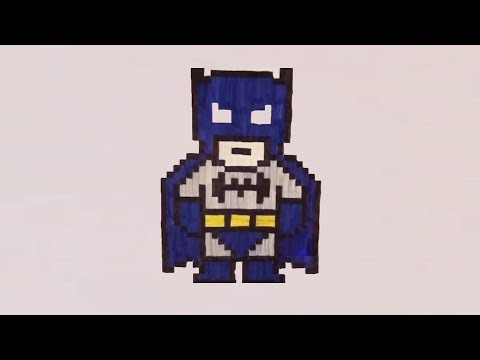 dessin pixel lego