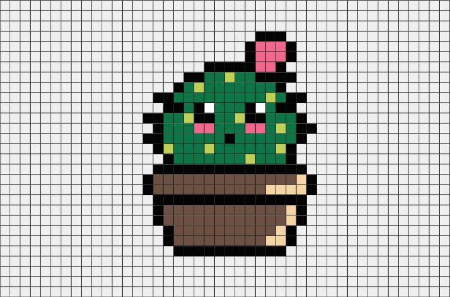 Dessin Pixel Art Licorne