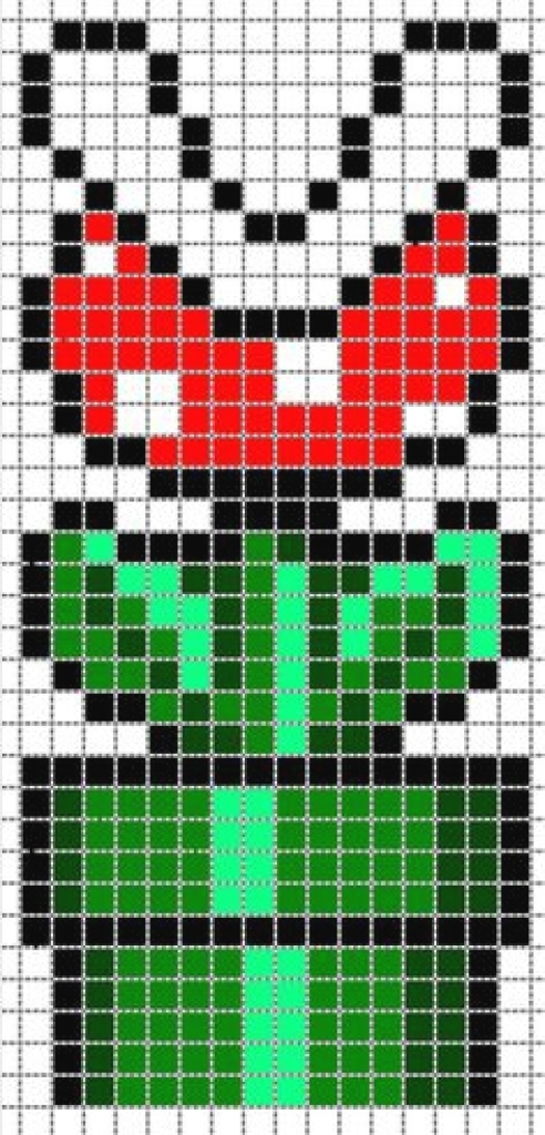 Dessin Pixel Mario Champignon Les Dessins Et Coloriage