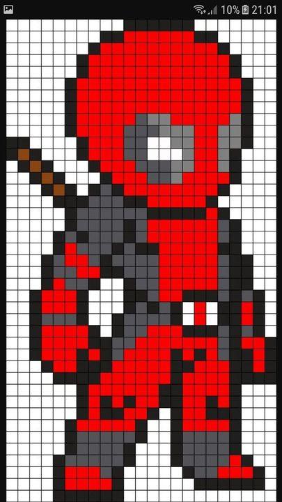 dessin pixel mbappe