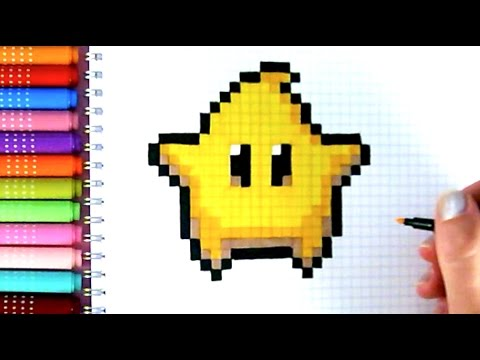 Pixel Art Chaton Trop Mignon Facile