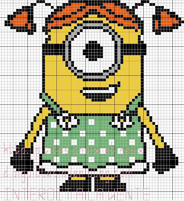 Pixels Art Minion