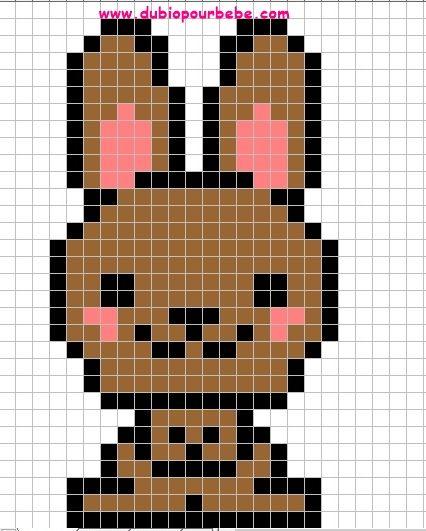 Pixel Art Animaux A Imprimer