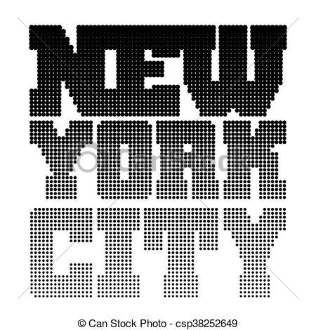 dessin pixel new york