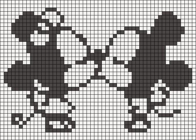 Dessin Pixel Noir Et Blanc Les Dessins Et Coloriage
