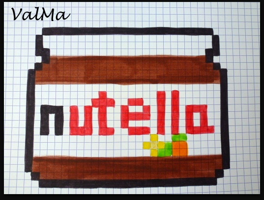 Art Pixel Art Facile Nourriture Kawaii