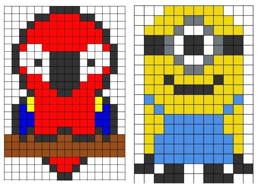 Pixel Art Noel Renne