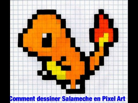 Dessin Pixel Pokemon Petit