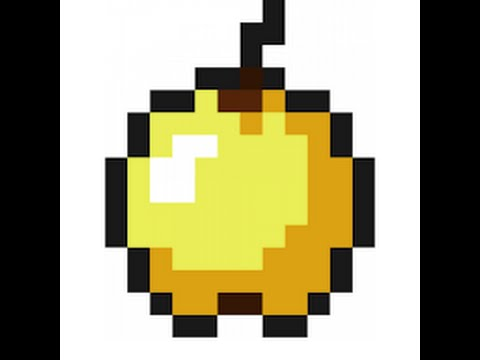 dessin pixel pomme