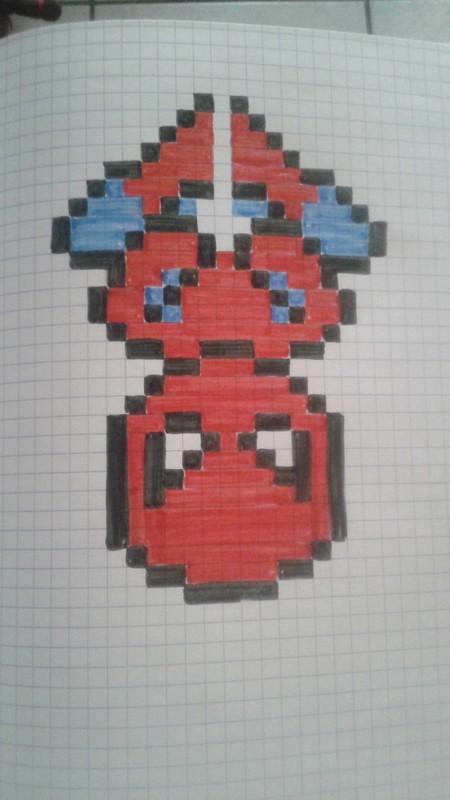 dessin pixel rapide