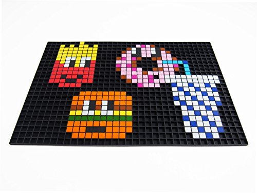 dessin pixel sans noir