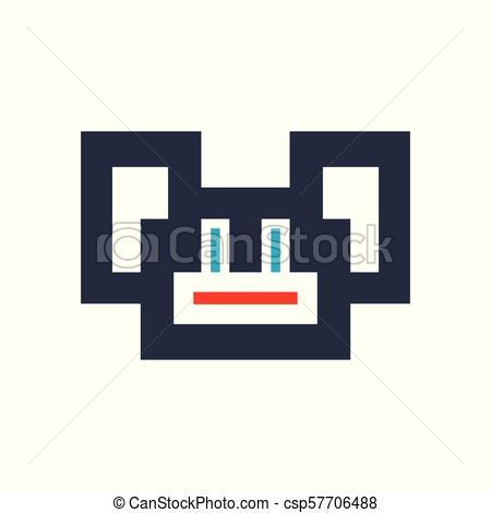 dessin pixel singe