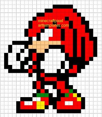 Dessin Pixel Sonic Les Dessins Et Coloriage