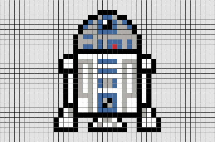 Dessin Pixel Star Wars A Imprimer Les Dessins Et Coloriage