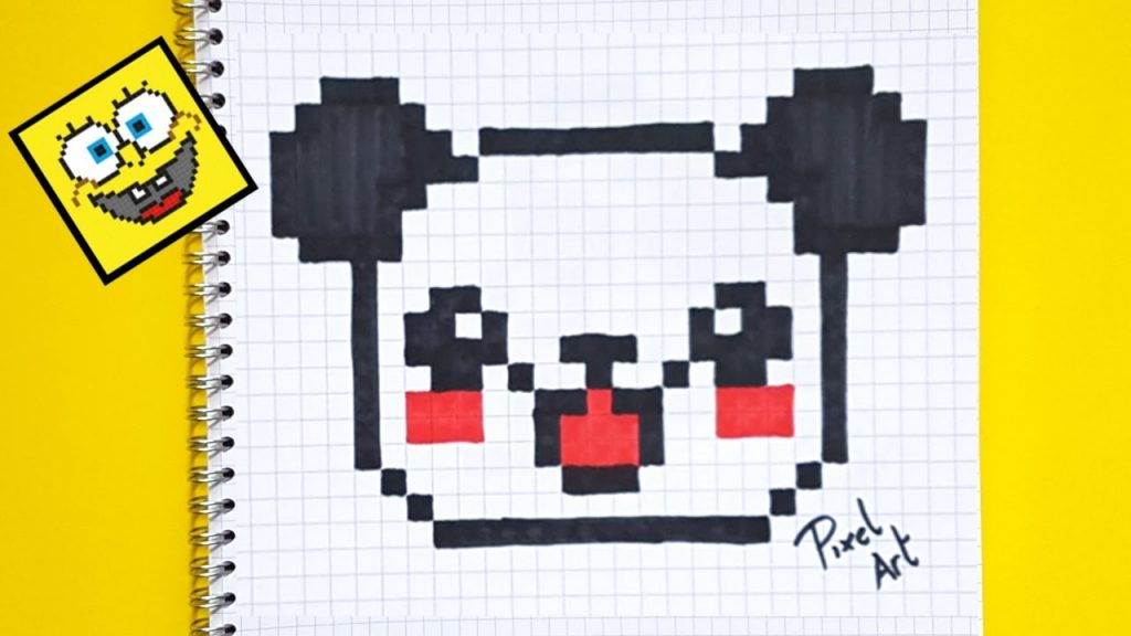 Dessin A Carreau Pixel Facile