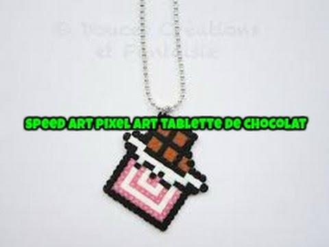 Dessin pixel tablette de chocolat les dessins et coloriage - Dessin tablette chocolat ...
