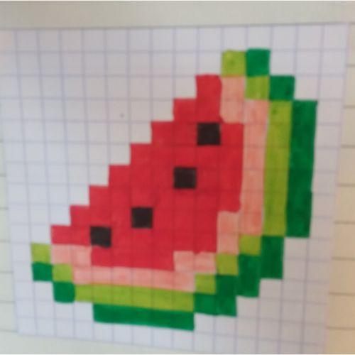 These E Salarizaredessin Pixel Facile Glace
